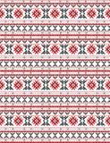 O bordado tradicional russian Imagens de Stock Royalty Free