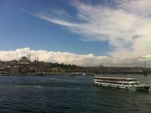 O Bosphorus Foto de Stock