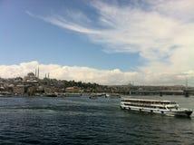 O Bosphorus Fotos de Stock Royalty Free