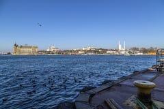 O Bosphorus, Istambul Imagens de Stock Royalty Free