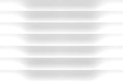 o branco 3D cega o fundo Imagem de Stock