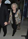 O branco de Betty da actriz é considerado em RELAXADO. Fotos de Stock Royalty Free