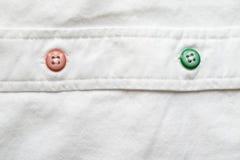 O branco enrugou a textura de matéria têxtil da tela para a terra traseira Imagem de Stock Royalty Free