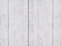 O branco riscado velho pintado embarca o fundo Fotos de Stock