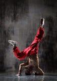 O breakdancer Imagens de Stock Royalty Free