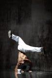 O breakdancer Foto de Stock Royalty Free