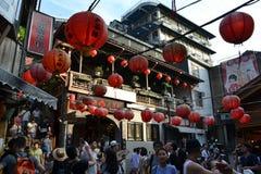 O brejo aglomerado de Jiu em Taiwan Imagem de Stock Royalty Free