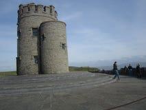 O ` Brien ` s塔, Moher,爱尔兰峭壁  免版税库存照片
