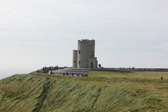 O`Brien`s Tower, Cliffs of Moher, Ireland Stock Images