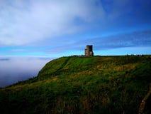 O Brien& x27; s-Turm, Klippen von Moher Lizenzfreies Stockbild