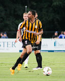 O'Brien Woodbine, Charleston Battery. O'Brien Woodbine in action against West Bromwich Albion at Blackbaud Stadium Stock Photo