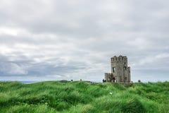 O ` Briens Toren bij de Klippen van Moher, Ierland Royalty-vrije Stock Afbeeldingen
