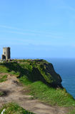O'Briens Turm auf Galway-Bucht Lizenzfreies Stockbild