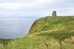 O'Briens Turm auf Klippen von Moher Lizenzfreies Stockfoto