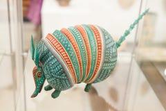 O brinquedo simbólico mexicano tradicional chamou o alebrije de Oaxaca, mim imagem de stock royalty free