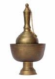 O bronze, derrama a água Imagem de Stock Royalty Free
