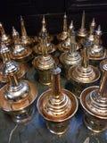 O bronze derrama a água Imagem de Stock Royalty Free