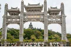 O Budda grande Fotografia de Stock Royalty Free