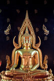 O Buddha calmo Banguecoque, Tailândia Imagem de Stock Royalty Free