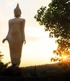 O buddha com a luz solar Imagem de Stock Royalty Free