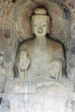O buddha de Grottoes de Longmen na porcelana fotos de stock royalty free
