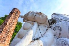 O Buddha de reclinação Fotografia de Stock