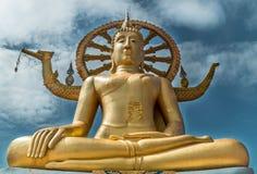 O buddha dourado Fotografia de Stock Royalty Free