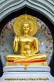 O buddha dourado em Banguecoque, Tailândia Foto de Stock