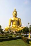 O buddha dourado o mais grande é tão bonito Fotografia de Stock Royalty Free