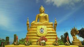 O buddha dourado, o santuário religioso de Ásia Curso e turismo buddhism filme