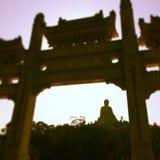 O Buddha grande imagem de stock royalty free