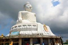 O Buddha grande Phuket tailândia Imagens de Stock Royalty Free