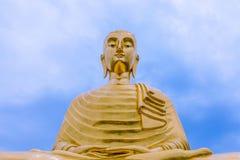 O buddha o mais grande na melhor vista Fotografia de Stock Royalty Free