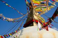 O Buddha o mais grande Stupa no mundo Fotografia de Stock