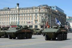O Bumerangue o mais atrasado do BTR do veículo blindado de transporte de pessoal do russo Foto de Stock