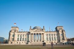 O Bundestag em Berlim, Alemanha Fotografia de Stock Royalty Free