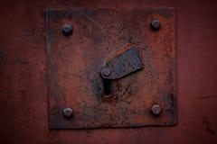 O buraco da fechadura é velho Fotografia de Stock Royalty Free
