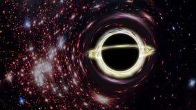 O buraco negro ilustração royalty free