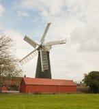 O Burgh-Le-Pântano cinco navegou o moinho de vento. Imagem de Stock