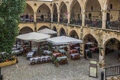 O Buyuk Khan, Nicosia, Chipre Fotografia de Stock Royalty Free