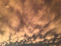 O céu é nosso tampão Fotografia de Stock Royalty Free