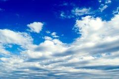 O céu. Fotos de Stock