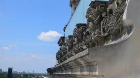 O céu acima de Berlim Imagens de Stock Royalty Free