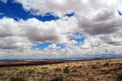 O céu americano Fotos de Stock