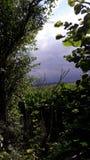 O céu antes da tempestade Foto de Stock