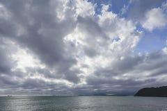 O céu após a tempestade Fotografia de Stock