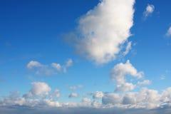 O céu azul Imagem de Stock Royalty Free