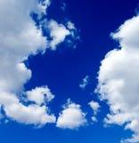 O céu azul fotografia de stock royalty free