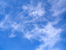 O céu azul Imagens de Stock Royalty Free