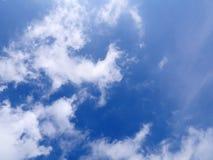 O céu azul Foto de Stock Royalty Free